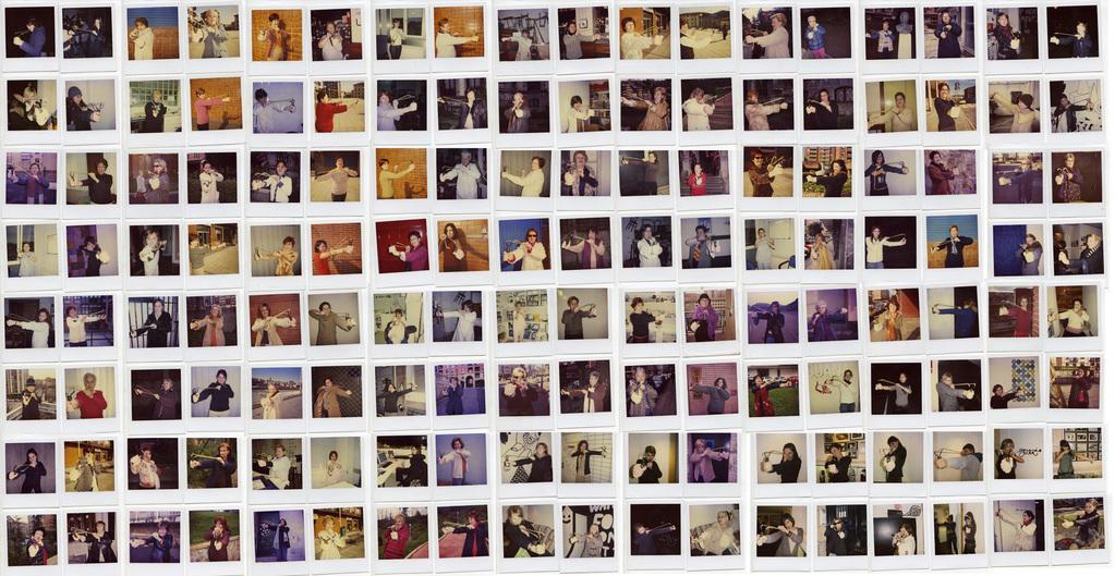 146 women armed with slingshot-shot-in-bilbo-donosti-pamplona-paris-and-malmö-2004