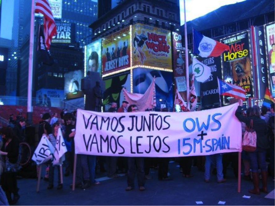 Demonstration on May 1st 2012
