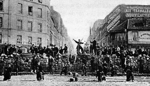 Paris_Commune_Barricade18March1871