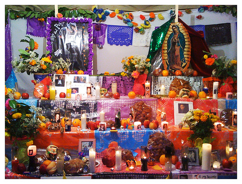 Urban Landscape - Day of the dead